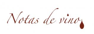 notas de vino